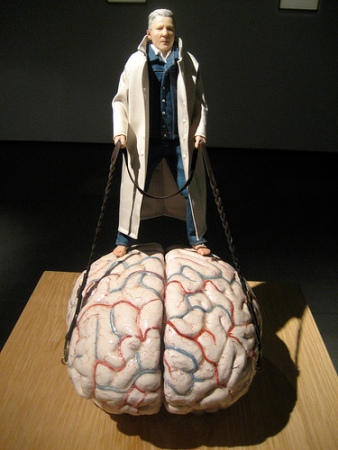 Man Takes Brain for a Walk