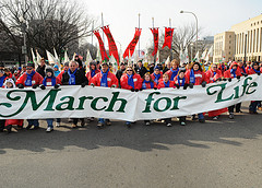 march for life banner