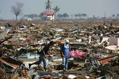 "Christmas 2004, the day the word ""Tsunami"" became a part of everyone's vocabulary. Estimated 200,000 people killed in this disaster."