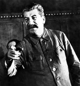 Joseph Stalin, personally responsible for the deaths of 50 Million people.