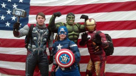 Avengers for Life!