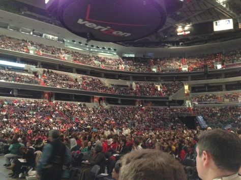 Youth Rally at the Verizon Center