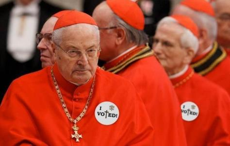 Meanwhile, back at the conclave....