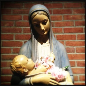 Mary, the mothe of my vocation.
