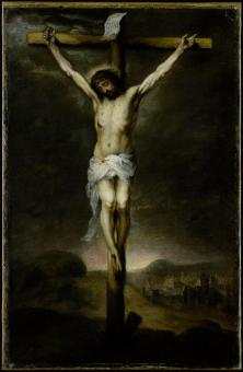 Murillo, Christ on the Cross, Metropolitan Art Museum, New York