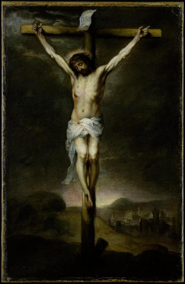 The King of Kings' Throne of Thrones | Catholicism Pure ... Jesus On The Cross Painting