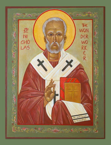 St Nickolas Icon courtesy of Reinkat