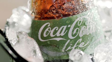 Is Coke going green?