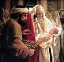 The child grew and became strong, filled with wisdom; and the favor of God was upon him.