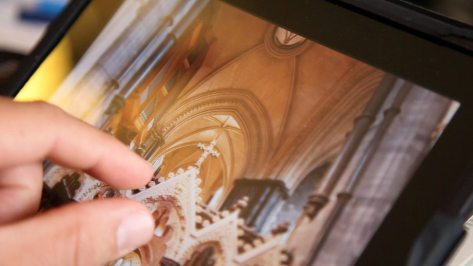 Interactive iPad app that explains the Catholic Mass and more