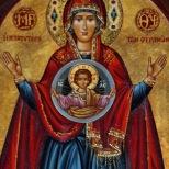 """Theotokos """"Panagia"""" Icon"""