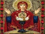 """Theotokos """"Eternal Chalice"""" Icon"""